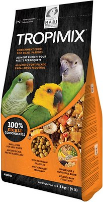 Hari Tropimix Enrichment Small Parrot Bird Food