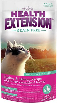 Health Extension Grain-Free Turkey, Salmon & Chickpea Recipe Dry Cat Food