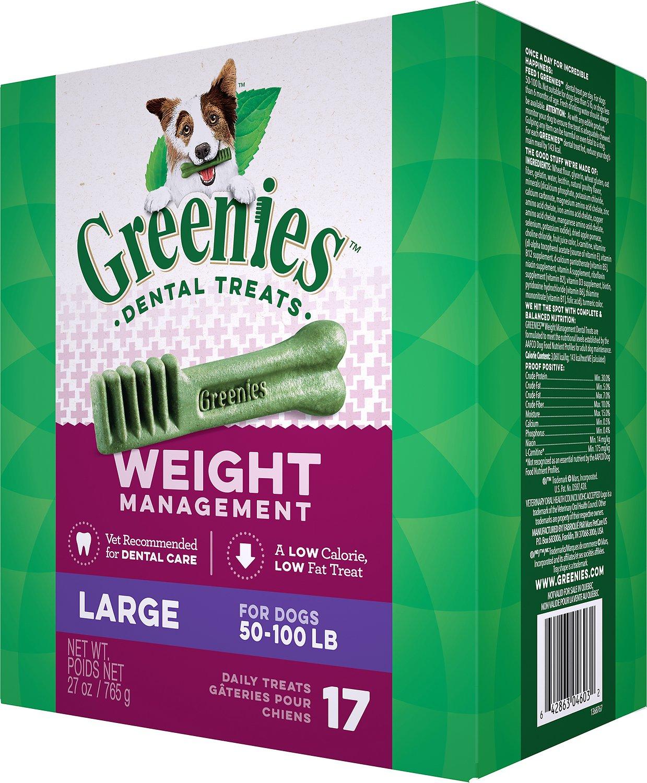 Greenies Weight Management Large Dental Dog Treats