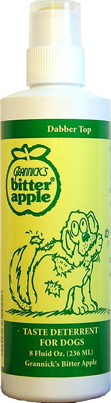 Grannick's Bitter Apple with Dabber Top for Dogs, 8-oz bottle