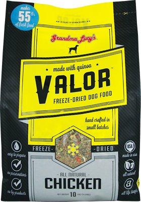 Grandma Lucy's Valor Grain-Free Chicken & Quinoa Freeze-Dried Dog Food