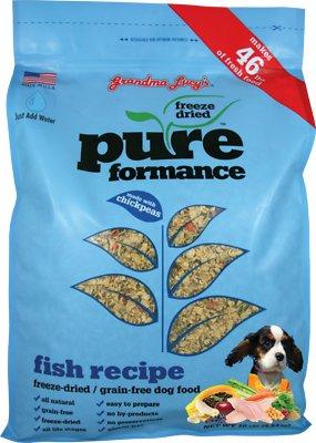 Grandma Lucy's Pureformance Grain-Free Fish Recipe Freeze-Dried Dog Food