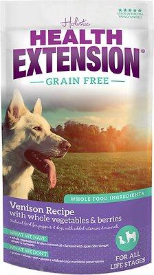 Health Extension Grain-Free Venison Recipe Dry Dog Food