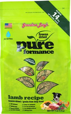Grandma Lucy's Pureformance Grain-Free Lamb Freeze-Dried Dog Food