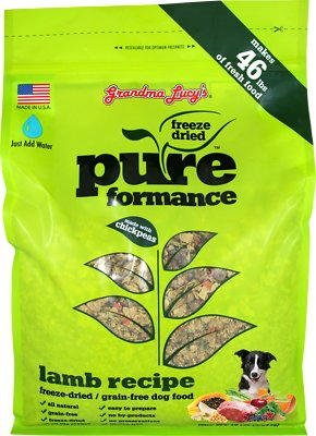 Grandma Lucy's Pureformance Grain-Free Lamb Freeze-Dried Dog Food