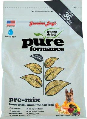 Grandma Lucy's Pureformance Grain-Free/Freeze-Dried Dog Food Pre-Mix