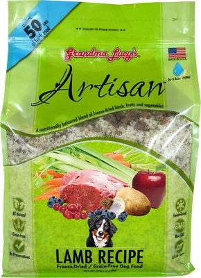 Grandma Lucy's Artisan Grain-Free Lamb Freeze-Dried Dog Food