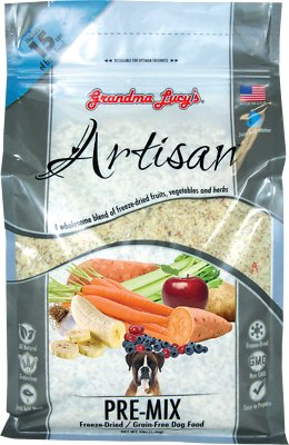 Grandma Lucy's Artisan Grain-Free/Freeze-Dried Dog Food Pre-Mix