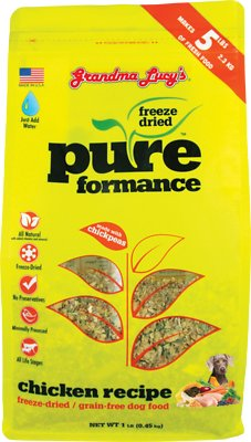 Grandma Lucy's Pureformance Grain-Free Chicken Freeze-Dried Dog Food