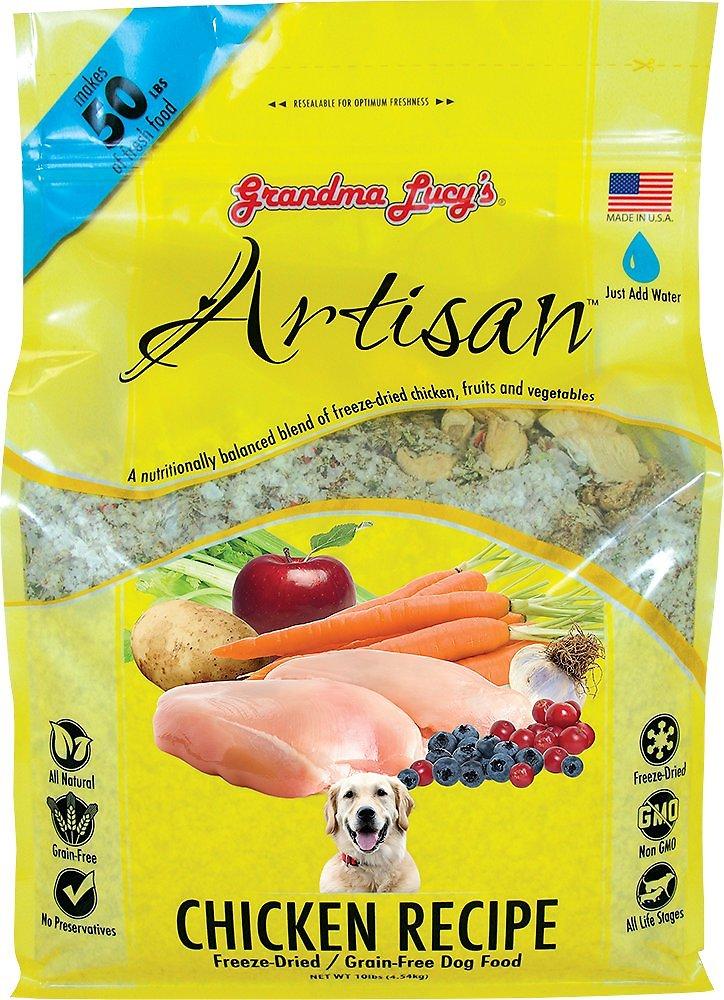 Grandma Lucy's Artisan Grain-Free Chicken Freeze-Dried Dog Food Image