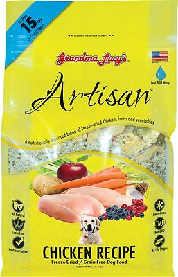 Grandma Lucy's Artisan Grain-Free Chicken Freeze-Dried Dog Food