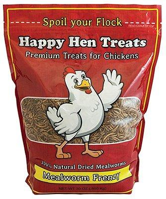 Happy Hen Treats Mealworm Frenzy Treats for Chickens