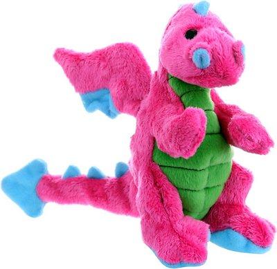 GoDog Dragons Chew Guard Dog Toy, Pink, Small