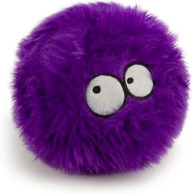 GoDog Furballz Chew Guard Dog Toy, Purple