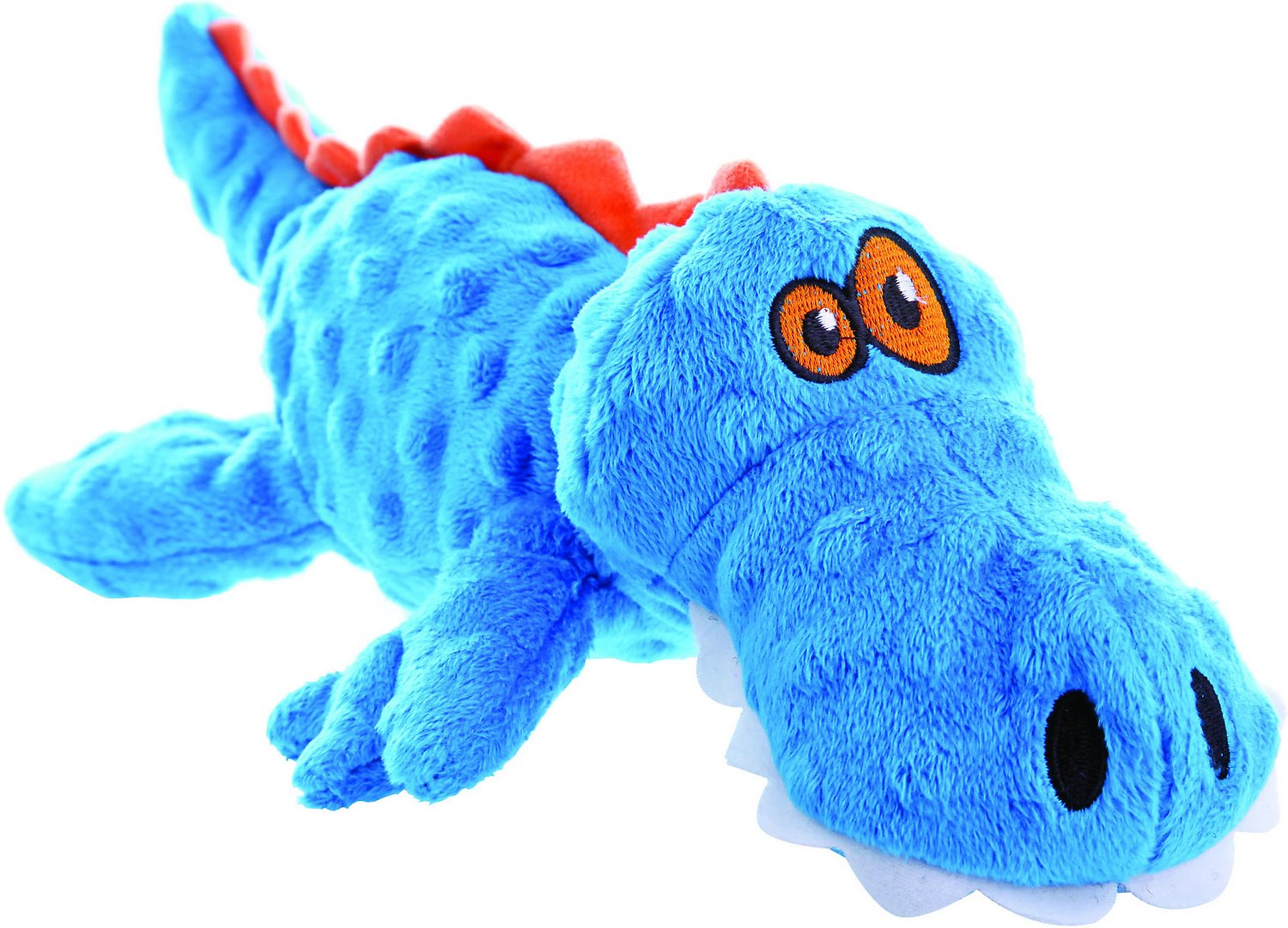 GoDog Just for Me Chew Guard Gators Dog Toy
