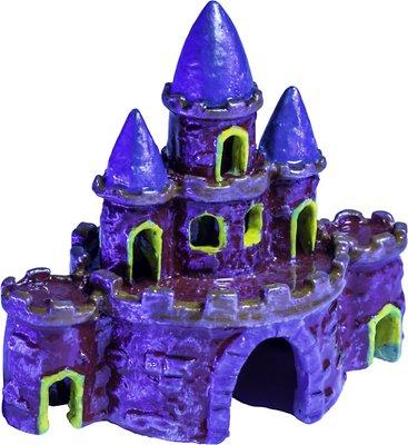 GloFish Castle Aquarium Ornament, Color Varies