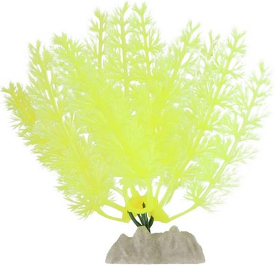 GloFish Aquarium Plant, Yellow, Small