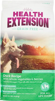 Health Extension Grain-Free Duck Recipe Dry Dog Food