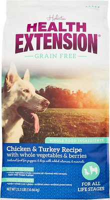 Health Extension Grain-Free Chicken & Turkey Recipe Dry Dog Food