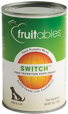 Fruitables Switch Pet Food Transition Dog & Cat Supplement, 15-oz