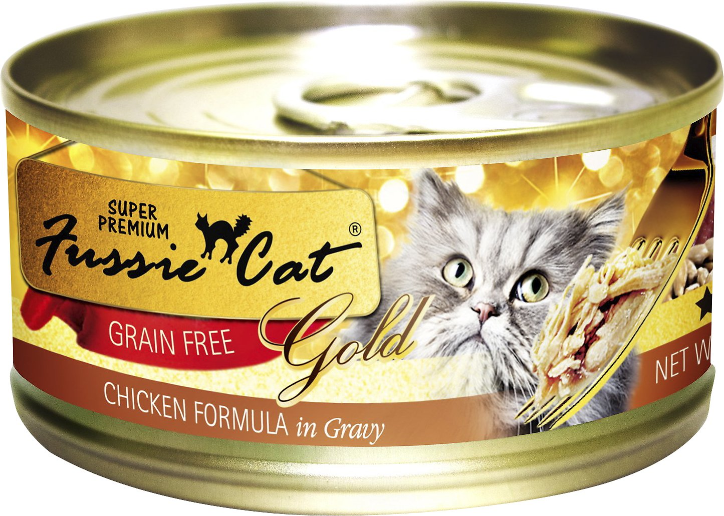 Fussie Cat Super Premium Chicken Formula in Gravy Grain-Free Canned Cat Food