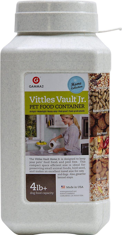 Gamma2 Vittles Vault Junior Pet Food Storage, 4 to 6-lb