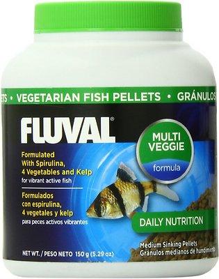 Fluval Vegetarian Pellet Fish Food