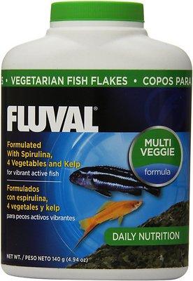 Fluval Vegetarian Flaked Fish Food