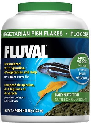 Fluval Vegetarian Flaked Fish Food