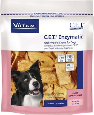 Virbac C.E.T. Enzymatic Oral Hygiene Dog Chews