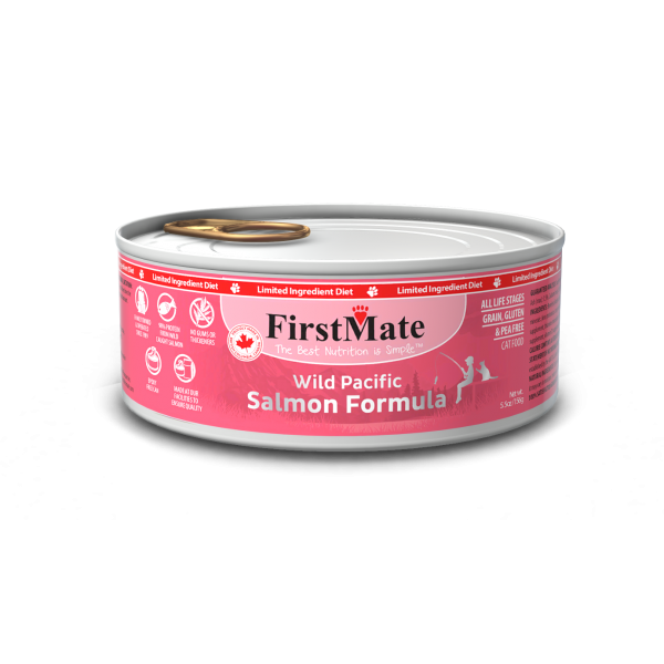 FirstMate Salmon Formula Limited Ingredient Grain-Free Canned Cat Food