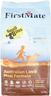FirstMate Small Bites Australian Lamb Meal Formula Limited Ingredient Diet Grain-Free Dry Dog Food