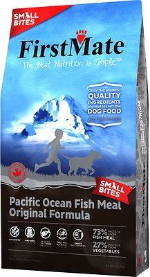 FirstMate Small Bites Pacific Ocean Fish Meal Original Formula Limited Ingredient Diet Grain-Free Dry Dog Food