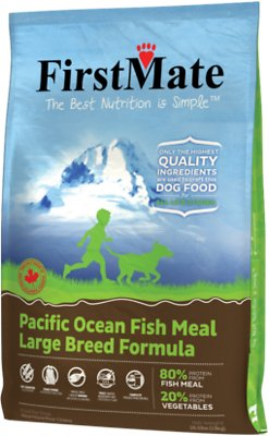 FirstMate Large Breed Pacific Ocean Fish Meal Formula Limited Ingredient Diet Grain-Free Dry Dog Food