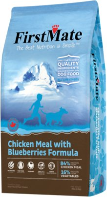 FirstMate Chicken Meal with Blueberries Formula Limited Ingredient Diet Grain-Free Dry Dog Food