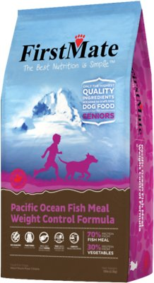 FirstMate Weight Control/Senior Pacific Ocean Fish Meal Formula Limited Ingredient Diet Grain-Free Dry Dog Food