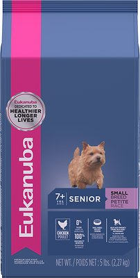 Eukanuba Small Breed Senior Dry Dog Food