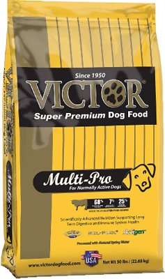Victor Multi-Pro Dry Dog Food, 50- lb