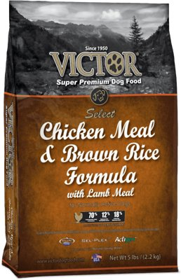 Victor Chicken Meal & Brown Rice with Lamb Meal Dry Dog Food, 5-lb bag
