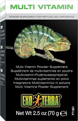 Exo Terra Multi Vitamin Reptile & Amphibian Supplement