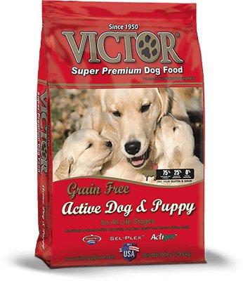 Victor Active Dog & Puppy Formula Grain-Free Dry Dog Food, 5-lb bag