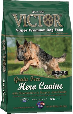 Victor Hero Grain-Free Dry Dog Food, 5-lb bag