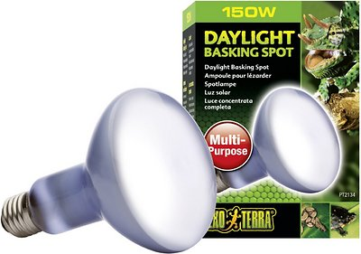Exo Terra Daylight Basking Reptile Spot Lamp, 150-w bulb