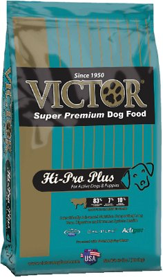 Victor Hi-Pro Plus Formula Dry Dog Food, 15-lb bag