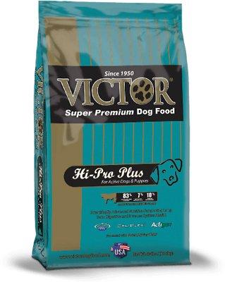 Victor Hi-Pro Plus Formula Dry Dog Food, 40-lb bag