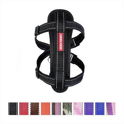 EzyDog Chest Plate Dog Harness, Black, Small