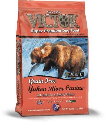 Victor Yukon River Salmon & Sweet Potato Grain-Free Dry Dog Food, 15-lb bag