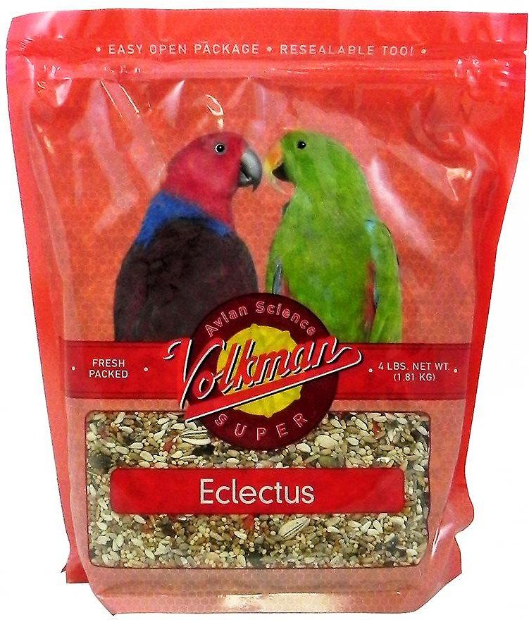 Volkman Avian Science Eclectus Bird Food, 4-lb bag