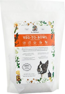 Dr. Harvey's Veg-To-Bowl Fine Ground Grain-Free Dog Food Pre-Mix