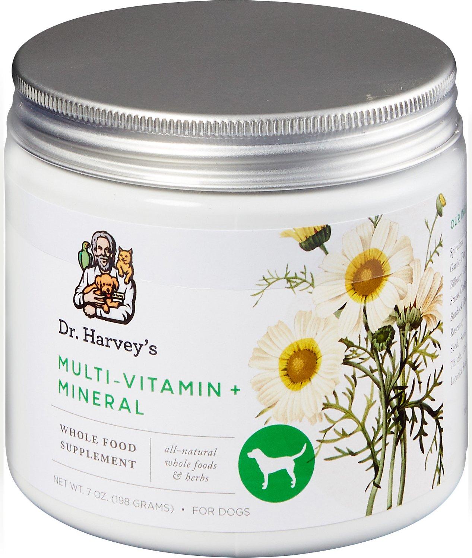 Dr. Harvey's Multi-Vitamin & Mineral Herbal Dog Supplement, 7-oz tin